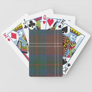 Playing Cards Chisholm Hunting Ancient Tartan