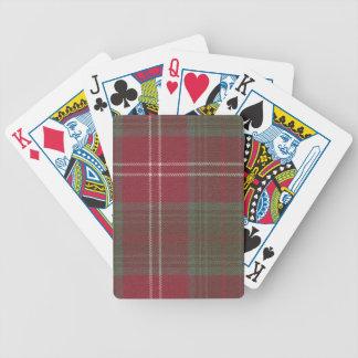 Playing Cards Chisholm Weathered Tartan