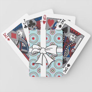 Playing Cards - Circle Pattern with Bow