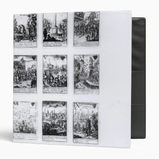 Playing cards commemorating binder