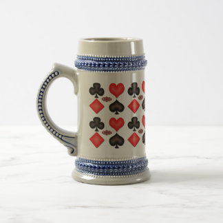 Playing Cards Customizable Mugs
