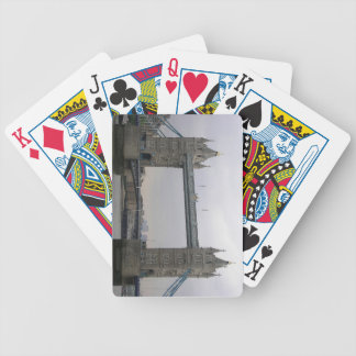 Playing Cards Deck with Tower Bridge, London