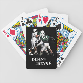 playing cards defense