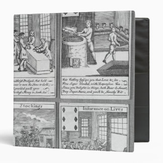 Playing Cards depicting current commercial Binder