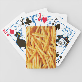 playing cards, election edition, french fries bicycle playing cards