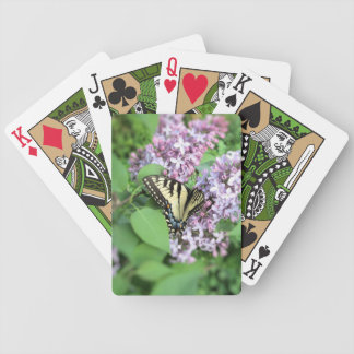 Playing Cards - ET Swallowtail on Lilac