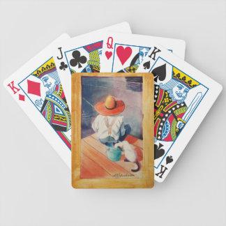 Playing cards Fisherman