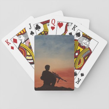 Playing Cards for Military