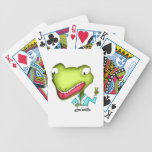 Playing cards Frog