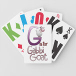 Playing Cards, G is for Gabbi Goat