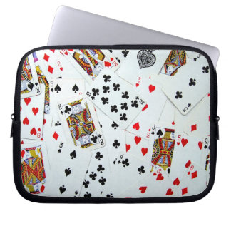 Playing Cards Games Computer Sleeve