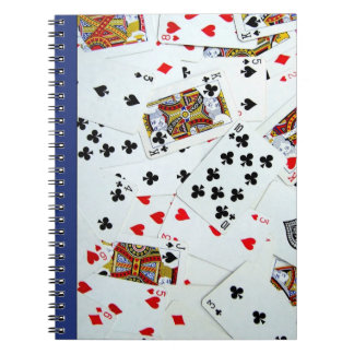 Playing Cards Games Note Book