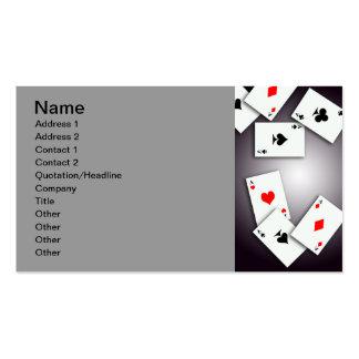 PLAYING CARDS GAMES POKER BLACKJACK GAMBLING GOFIS BUSINESS CARD TEMPLATES