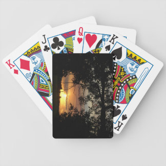Playing Cards: GJ Sunset Bicycle Playing Cards