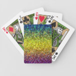 Playing Cards Glitter Graphic Background
