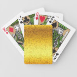 Playing Cards Glitter Graphic Gold