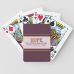 Playing Cards: Hope