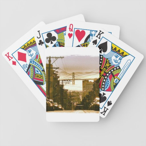 Playing Cards - Iconic San Francisco Bay