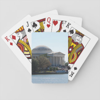 Playing Cards - Jefferson Memorial in Spring
