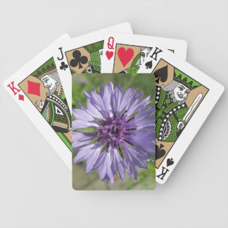 Playing Cards - Lilac/Purple Bachelor's Button