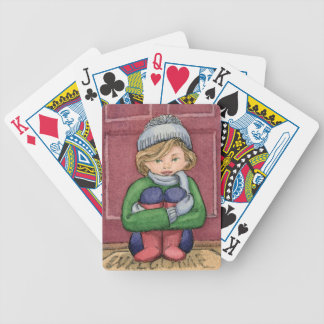Playing Cards - Little Girl - Welcome Home