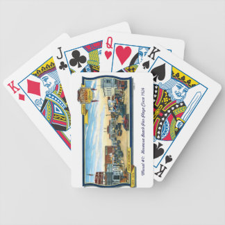 Playing Cards~Mural #1:  Hermosa Beach Pier Plaza