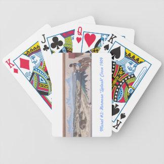 Playing Cards Mural 2 Hermosa Splash Circa 190