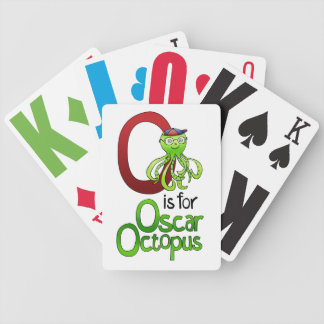 Playing Cards, O is for Oscar Octopus