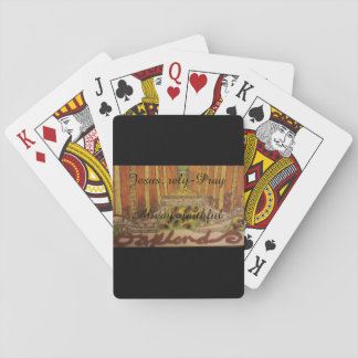 Playing cards/Oakland,ca- paramount theatre art Card Deck
