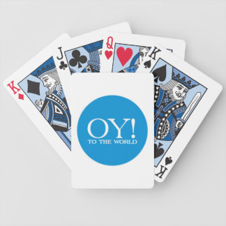 Playing Cards - OY TO THE WORLD!