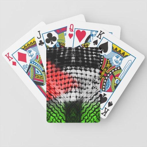 Playing Cards (PALESTINE ARABIC SCARF)