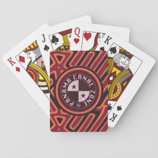 Playing Cards: Panama Canal Zone Mola Playing Cards