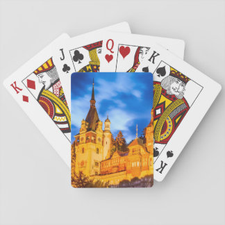 Playing Cards Peles castle Sinaia