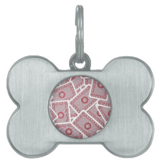 Playing Cards Pet ID Tag