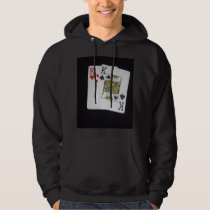 Playing Cards Pocket Kings, Hoodie