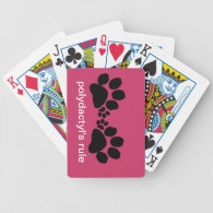 Playing cards - Polydactyl's rule