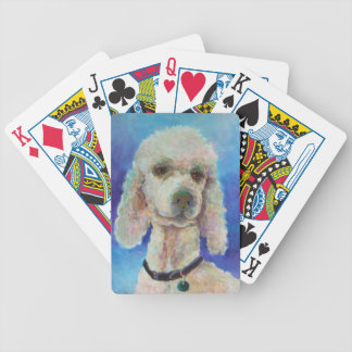Playing Cards-Poodle Bicycle Playing Cards