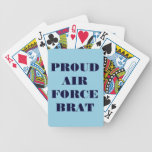 Playing Cards Proud Air Force Brat Bicycle Playing Cards