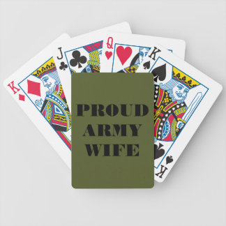 Playing Cards Proud Army Wife