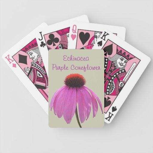 Playing Cards - Purple Coneflower - Echinacea