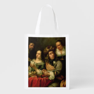 Playing Cards Reusable Grocery Bags