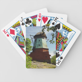 Playing Cards: Skansen Windmill Bicycle Playing Cards