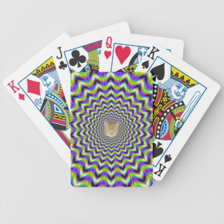Playing Cards  Star in Yellow Pink Blue and Green