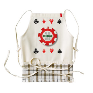 Playing Cards Suits Zazzle HEART Apron