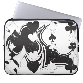Playing Cards Symbols Laptop Computer Sleeves
