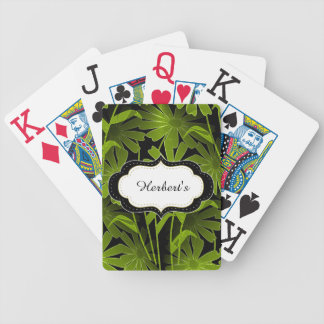 Playing Cards-Template-(c)Night Flowers-- Bicycle Playing Cards