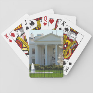 Playing Cards - The White House during Spring