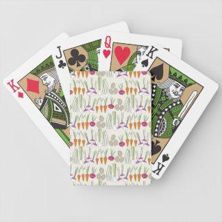 Playing Cards- Veggies! Bicycle Playing Cards