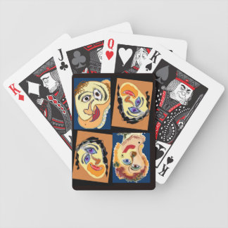Playing Cards--weird and tragic (and funny) Bicycle Playing Cards