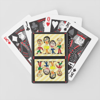 Playing cards--weird gang & tragic royalty bicycle playing cards
